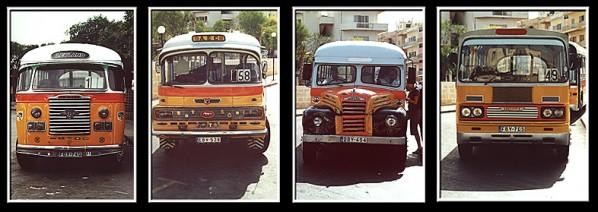 Maltesische Busse