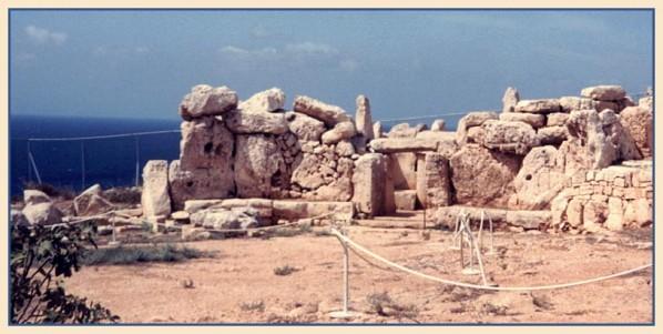 Neolithischer Tempel