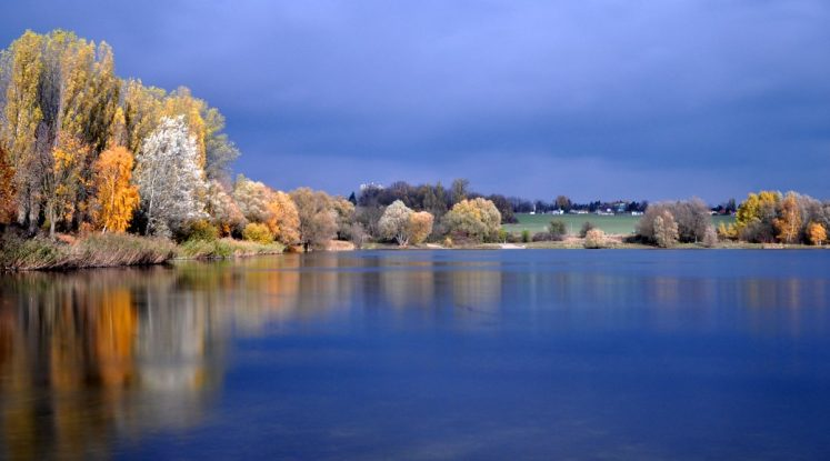 Langzeitbelichtung Kaulsdorfer Seen