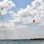 Kitesurfer am Es Trenc