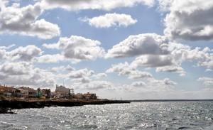 Die Küste in Sa Rapita
