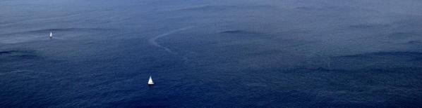 Wanderung La Trappa - Segelboote