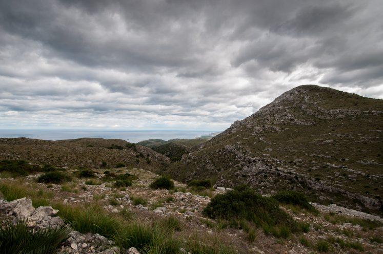 Wanderung im Parc natural de la península de Llevant