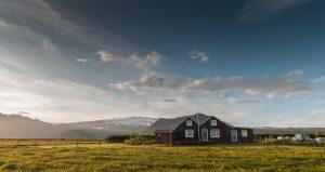 Ferienhaus vorm Eyjafjallajökull