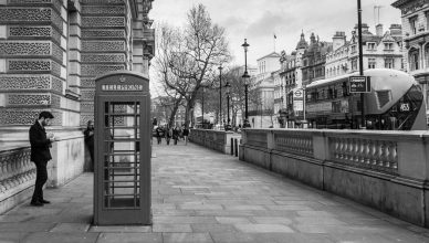 phone vs. mobile - London
