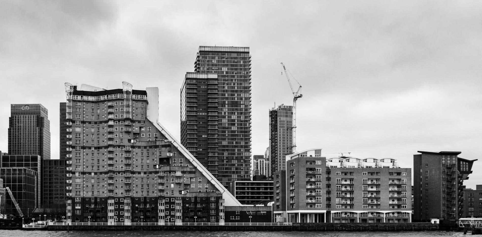 London vom Wasser