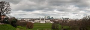 London Blick von Greenwich Park