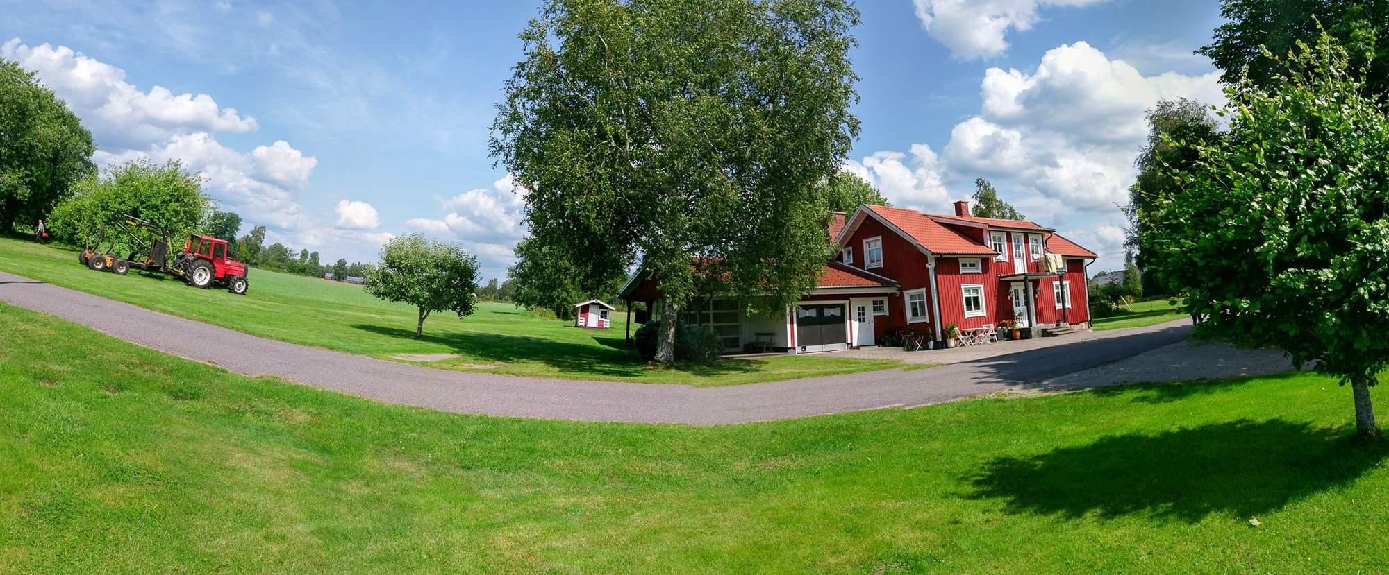 Dorfidylle in Schweden