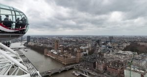 Blick vom London Eye